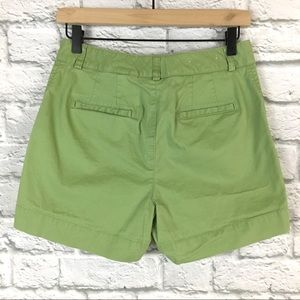 Eddie Bauer Shorts - Eddie Bauer Mercer Fit Chino Green Shorts Size 4
